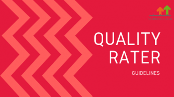 Updates to Google's Quality Rater Guidelines 2018